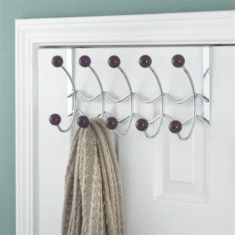 5 Hook Over-the-Door Coat Rack