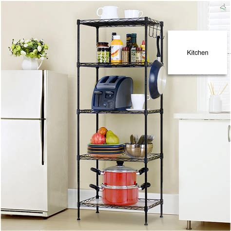 5 Tier Wire Storage Rack