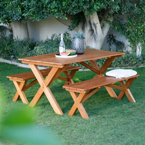 5 Ft Wood Picnic Table