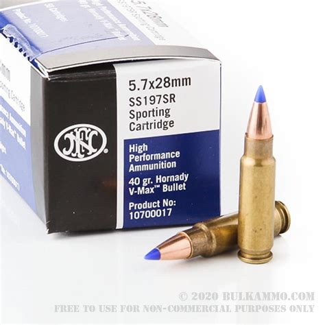 Ammo 5.7 X28 Ammo.