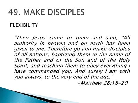 [pdf] 50 Commands Of Christ - 15 -  48-50 48 Make And Baptize .