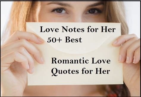 @ 50 Romantic Short Love Notes For Her   Notes For Her.