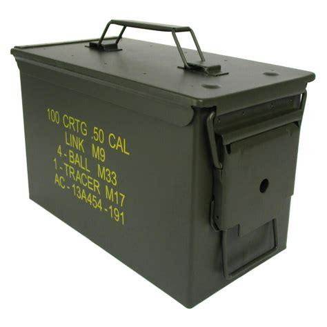 Ammunition 50 Cal Ammunition Box