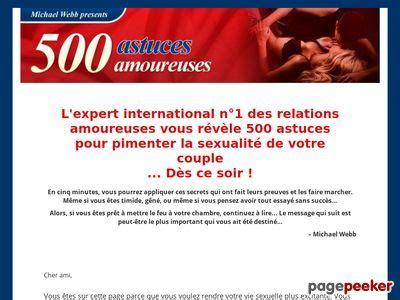 500 Astuces Amoureuses Official.