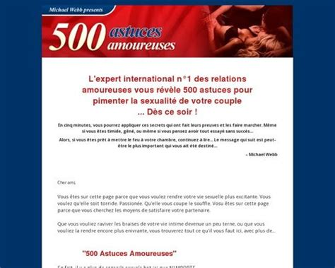 500 Astuces Amoureuses Official Technology Arena.