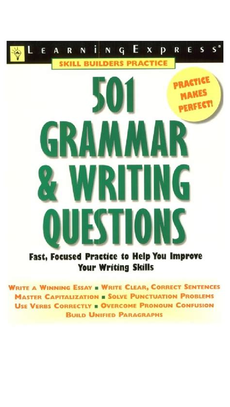 [pdf] 501 Grammar And Writing Questions.