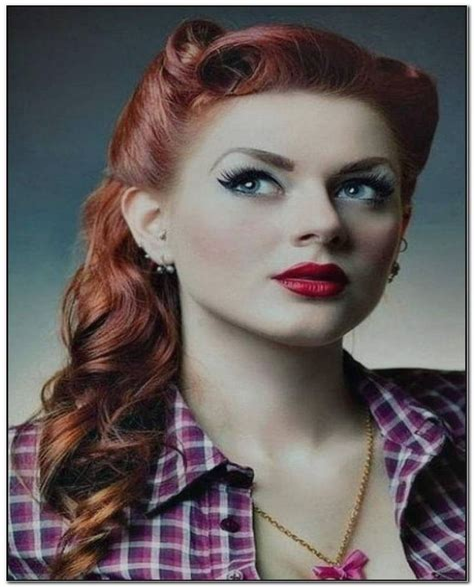 50er Jahre Frisur