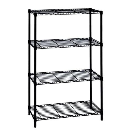 54 H Heavy Duty Wire 4 shelf Shelving Unit