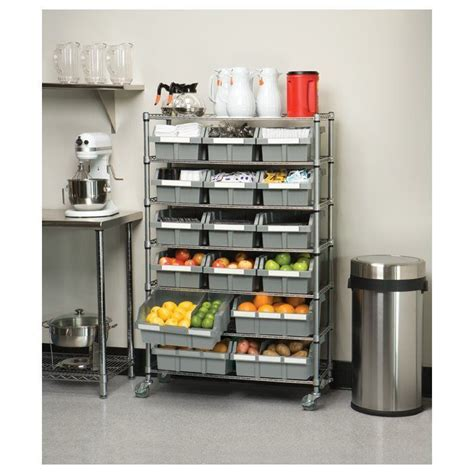56 H x 36 W Deep Commercial Storage System