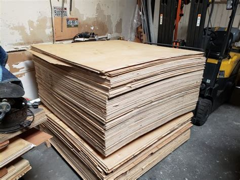 5x5 Birch Plywood