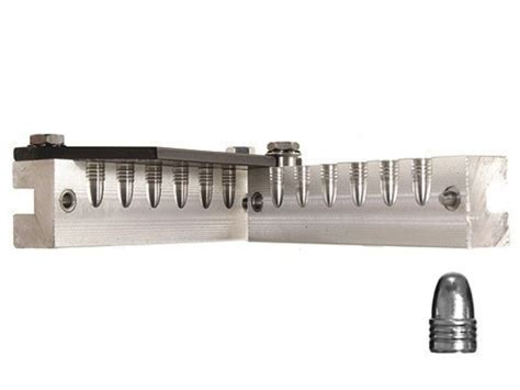 6 Cavity Handgun Moulds 6-Cavity Tl356-124-2r 9mm 380 .