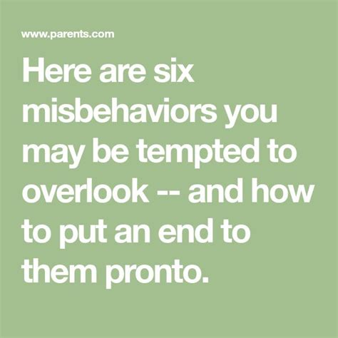 [click]6 Little Behavior Problems You Shouldn T Ignore - Parents.