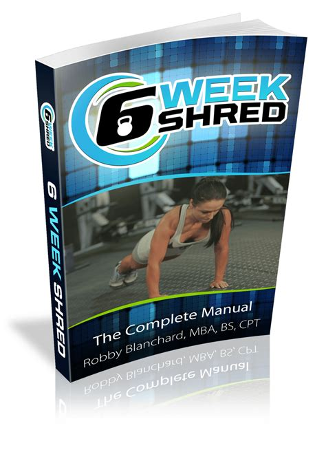 [pdf] 6 Week Shred Fat Burning Workout Program.
