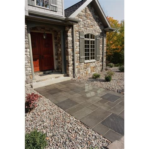 6 Ft X 12 Ft Western Buff Slate Patio Kit-404000035 At .