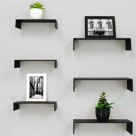 6 Piece Extense Wall Shelf Set