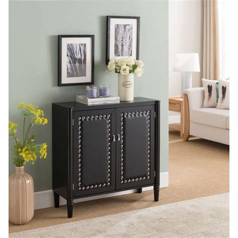 6-Cubby Storage Accent Cabinet