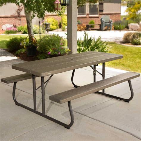 6 Foot Plastic Picnic Tables
