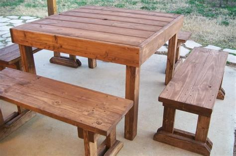 6 Foot Wood Picnic Table Plans