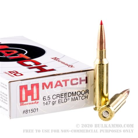Ammo 6.5 Creedmoor Ammo.