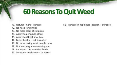 [click]60 Reasons To Quit Weed Quit Marijuana The Complete Guide Review.