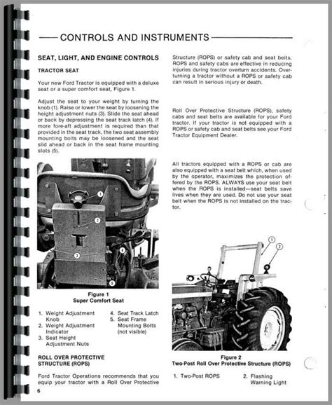 [pdf] 6610 Ford Tractor Hydraulic Manuals.