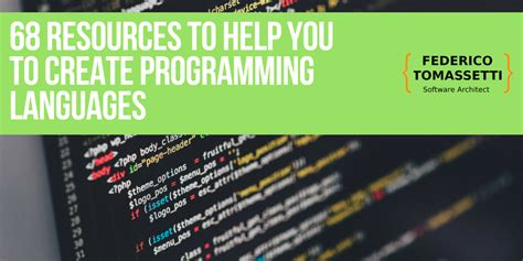 @ 68 Resources On Creating Programming Languages.