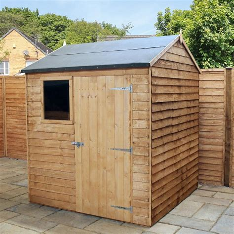 6x6 Wooden Shed