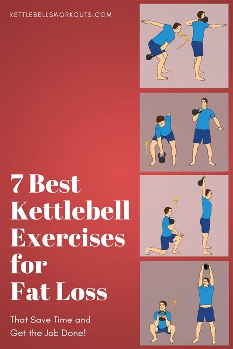 7 Best Kettlebell Exercises For Fat Loss (save Time, Get The Job.