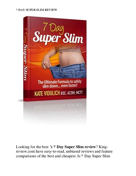 [click]7 Day Super Slim Review.