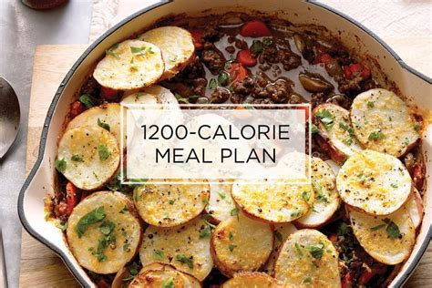 [click]7-Day 1200-Calorie Meal Plan For Weight Loss Taste Of Home.