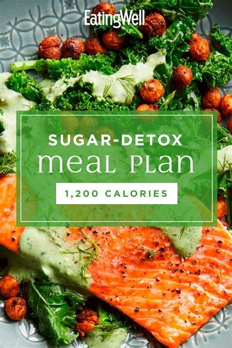 7-Day Sugar-Detox Meal Plan: 1,200 Calories - Eatingwell.