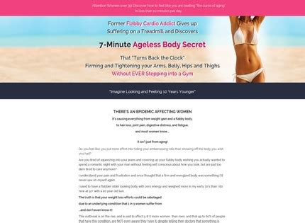 [click]7-Minute Ageless Body Secret Reviews - 26 Questions .