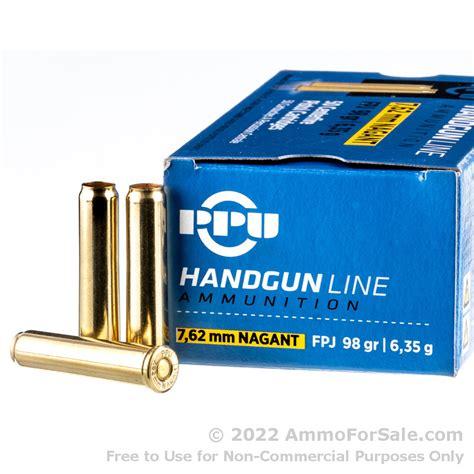 Ammunition 7.62 Nagant Ammunition For Sale.