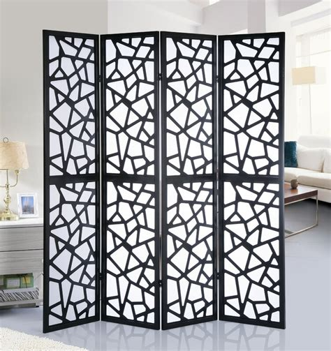 70 x 70 Giyano Screen 4 Panel Room Divider