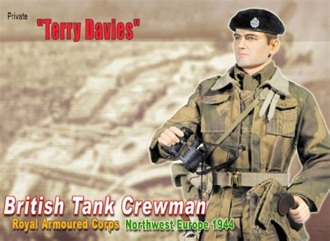 70591 - Terry Davies British Tank Crewman Royal .