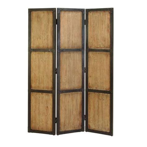 71 H x 48 W Wood 3 Panel Room Divider