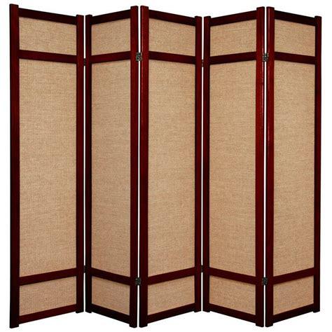 71 x 70 Clarke Shoji 5 Panel Room Divider