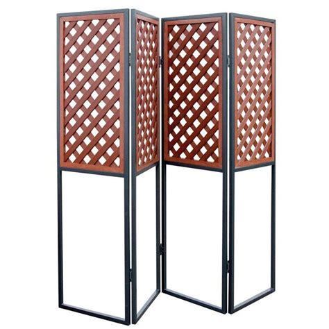 72 x 120 Patio Retractable Privacy Wall Folding Room Divider