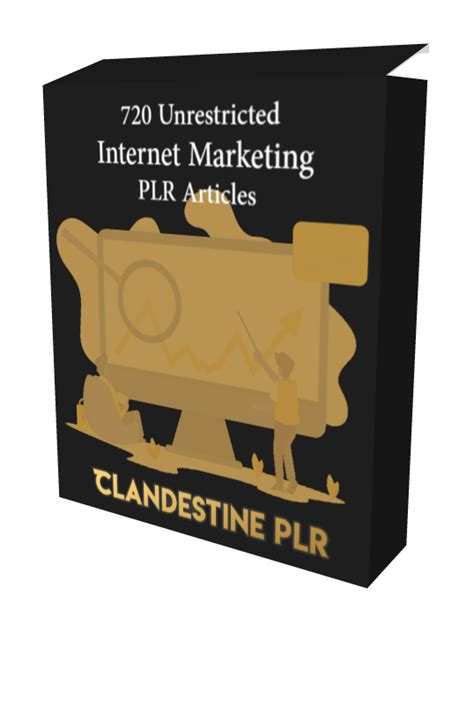 [click]720 Unrestricted Internet Marketing Plr Articles Pack.