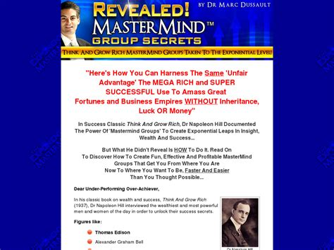 [click]75 Create Profits With An Effective Mastermind Group.