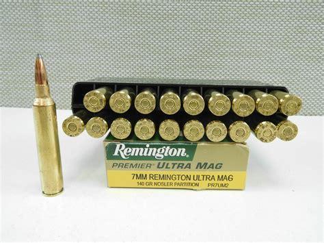 Ammunition 7mm Ultra Mag Ammunition For Sale.
