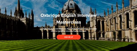 8 Killer Ways To Prepare For An Oxford Or Cambridge University.