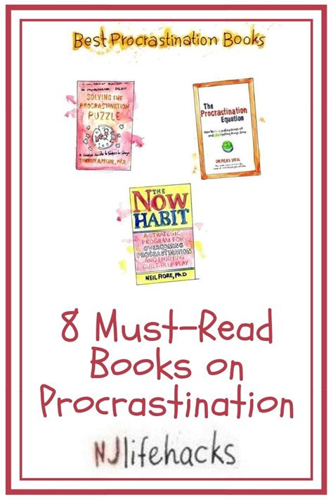 8 Must-Read Books On Procrastination - Njlifehacks.