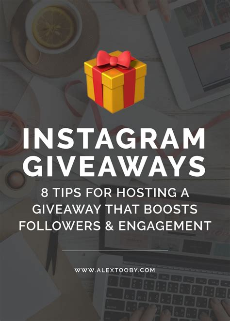 8 Tips For Hosting A Successful Instagram Giveaway Or Contest.
