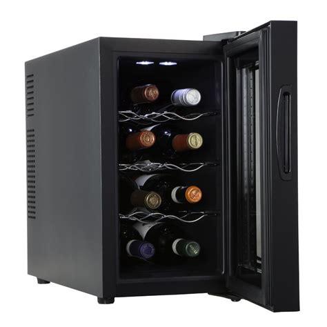 8 Bottle Ivation Single Zone Freestanding Wine Cooler