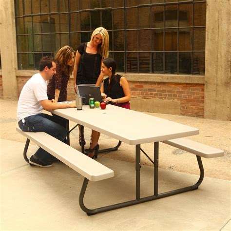 8 Foot Folding Picnic Tables