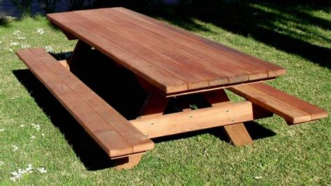 8 Ft Picnic Table Plans DIY
