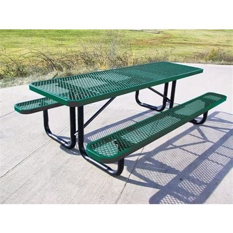 8 Ft Picnic Table with Seats