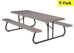 8 Ft Picnic Tables