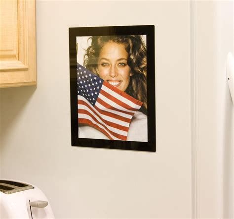 8 X 10 Acrylic Picture Frame with Magnetic Backer